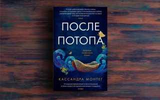 После потопа – Кассандра Монтег