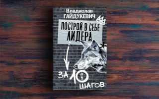 Построй в себе лидера за 10 шагов– Владислав Гайдукевич
