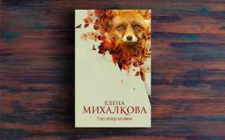След лисицы на камнях – Елена Михалкова
