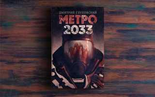 Метро 2033 – Дмитрий Глуховский