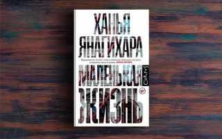 Маленькая жизнь – Ханья Янагихара