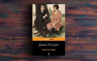 Мартин Иден – Джек Лондон