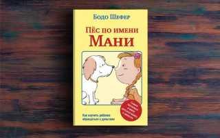 Пес по имени Мани – Бодо Шефер