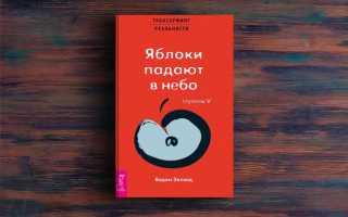 Трансерфинг реальности V. Яблоки падают в небо – Вадим Зеланд